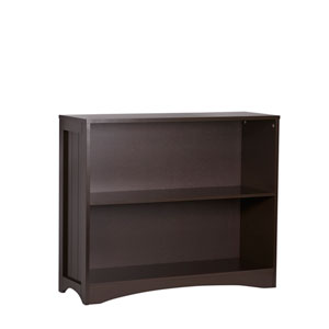 Espresso Horizontal Bookcase