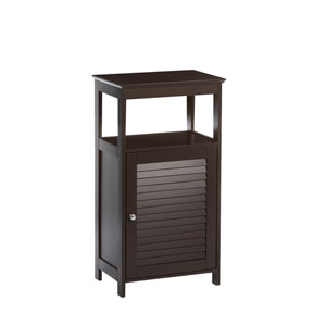 Espresso Ellsworth Single Door Floor Cabinet