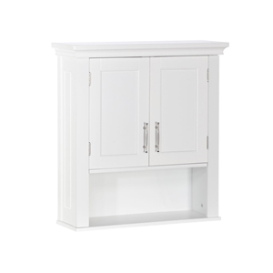 White Somerset Wall Cabinet