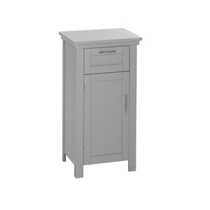 Somerset Collection - Single Door Floor Cabinet - Gray