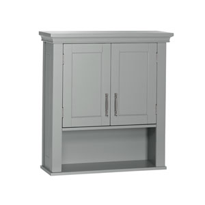 Somerset Collection - 2-Door Wall Cabinet - Gray