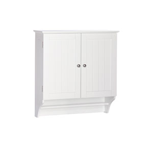 Ashland Collection - 2-Door Wall Cabinet - White