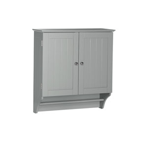 Ashland Collection - 2-Door Wall Cabinet - Gray