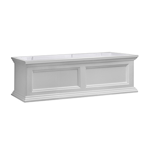 Fairfield White 3 Feet Window Box