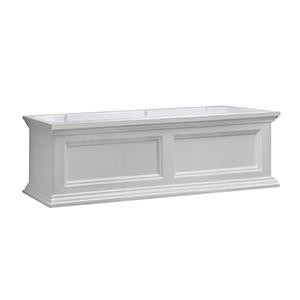 Fairfield White 3 Feet Window Box
