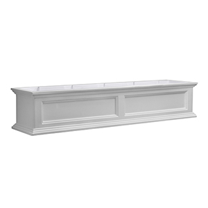 Fairfield White 5 Feet Window Box