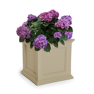 Fairfield Clay 20x20 Inch Square Patio Planter