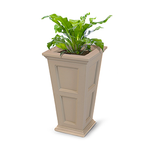 Fairfield Clay Tall Planter