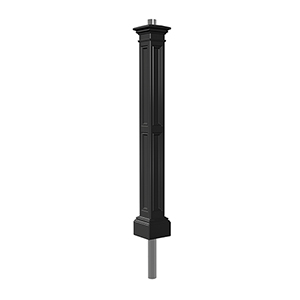 Liberty Black Lamp Post