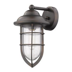 Dylan Oil Rubbed Bronze One-Light Outdoor Wall Mount