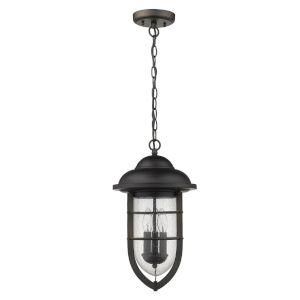 Dylan Oil Rubbed Bronze Three-Light Outdoor Hanging Pendant