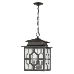 Calvert Oil Rubbed Bronze Four-Light Outdoor Hanging Pendant