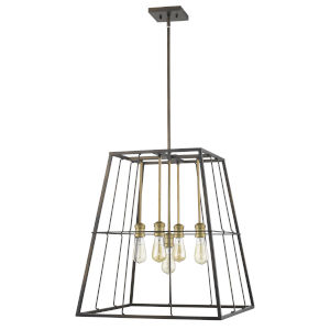 Charley Oil Rubbed Bronze Five-Light Pendant