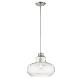 Torrel Satin Nickel One-Light Pendant