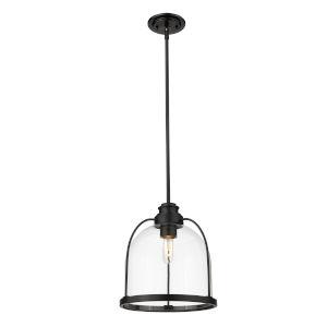 Stanton Matte Black One-Light Pendant