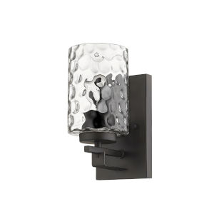 Livvy Oil-Rubbed Bronze One-Light Bath Vanity