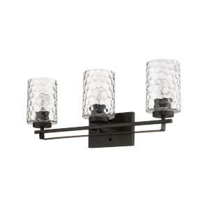 Livvy Oil-Rubbed Bronze Three-Light Bath Vanity