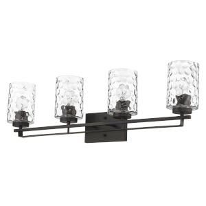 Livvy Oil-Rubbed Bronze Four-Light Bath Vanity