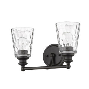 Mae Oil-Rubbed Bronze Two-Light Bath Vanity