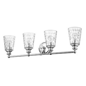 Mae Chrome Four-Light Bath Vanity