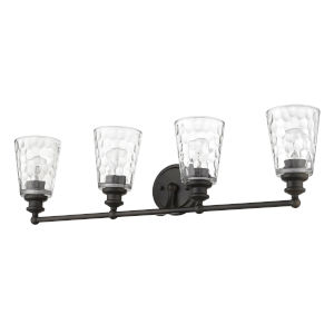 Mae Oil-Rubbed Bronze Four-Light Bath Vanity