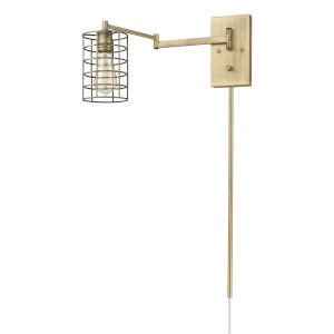 Jett Aged Brass One-Light Wall Sconce