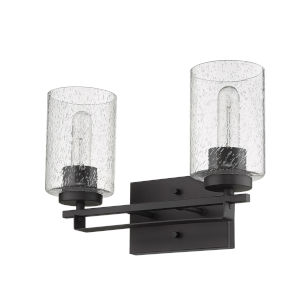 Orella Oil-Rubbed Bronze Two-Light Bath Vanity