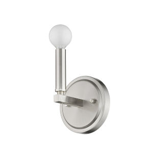 Sawyer Satin Nickel One-Light Bath Vanity