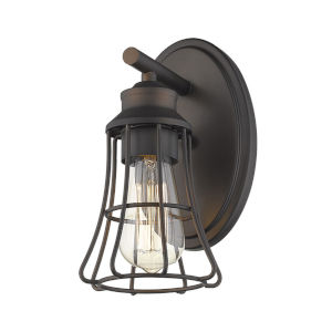 Piers Oil Rubbed Bronze One-Light Wall Sconce