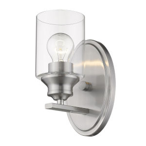 Gemma Satin Nickel One-Light Wall Sconce