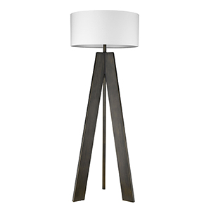 Soccle Oil-Rubbed Bronze One-Light Floor Lamp