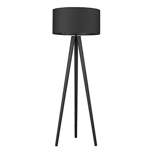 Tourer Matte Black One-Light Floor Lamp