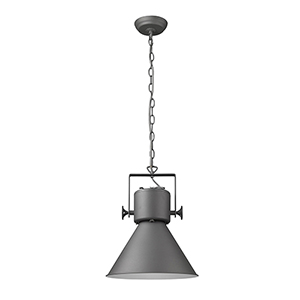 Crew Gray One-Light Pendant