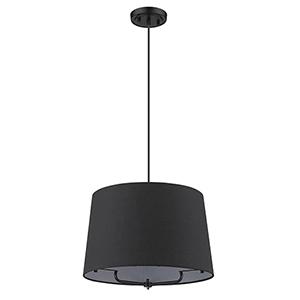 Lamia Matte Black One-Light Pendant