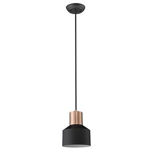Ingo Matte Black One-Light Mini Pendant