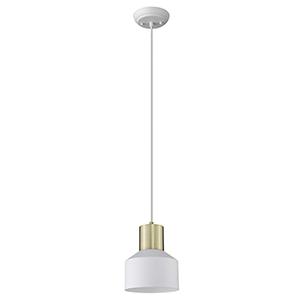 Ingo White One-Light Mini Pendant