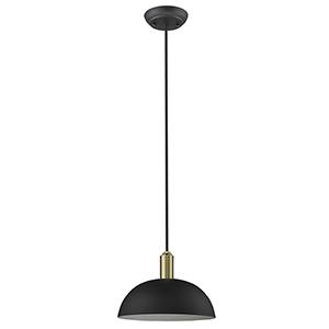 Ingo Matte Black One-Light Pendant