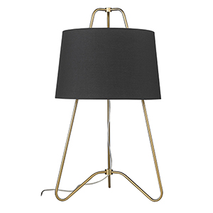 Lamia Gold One-Light Table Lamp