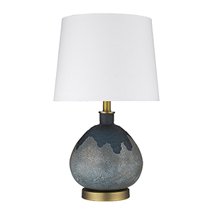 Trend Home Brass 13-Inch One-Light Table Lamp