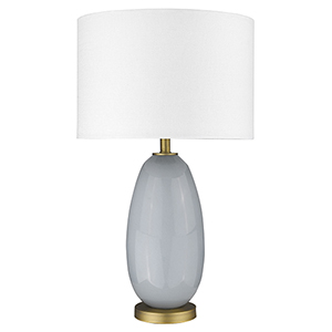 Trend Home Brass 17-Inch One-Light Table Lamp