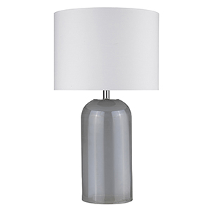 Trend Home Polished Nickel 17-Inch One-Light Table Lamp