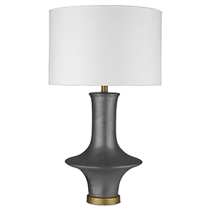 Trend Home Brass 18-Inch One-Light Table lamp