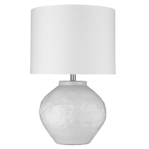 Trend Home Polished Nickel 16-Inch One-Light Table Lamp