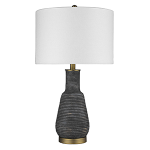 Trend Home Brass 15-Inch One-Light Table Lamp
