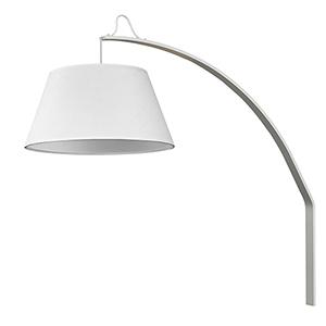 Della White 20-Inch One-Light Wall Sconce
