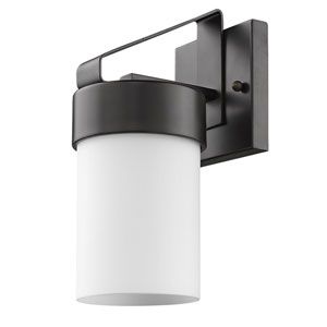 Mason Oil Rubbed Bronze 5-Inch One-Light Outdoor Wall Mount