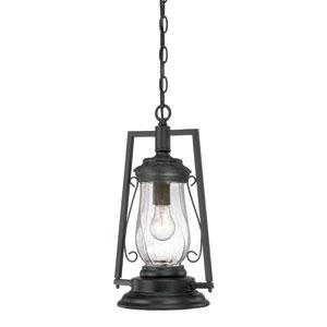 Kero Matte Black Outdoor Hanging Lantern