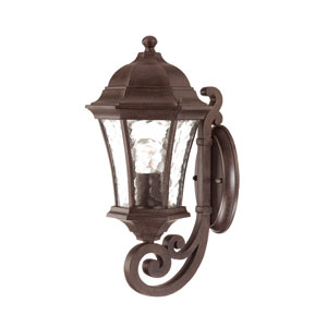 Waverly Black Coral One-Light 16.5-Inch Outdoor Wall Mount