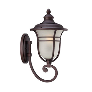 Montclair Architectural Bronze 21.5-Inch One Light Wall Lantern Fixture