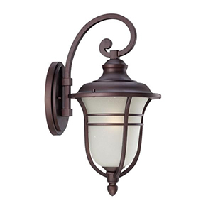 Montclair Architectural Bronze 21.5-Inch One Light Outdoor Wall Lantern Fixture